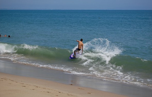 Skim Session in Southern Cal