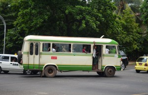 Local Yangon Bus
