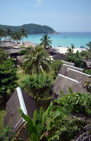 long beach on perhentian islands