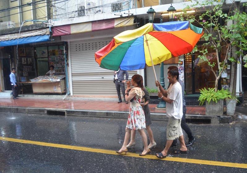 Safe from the Bangkok Rain