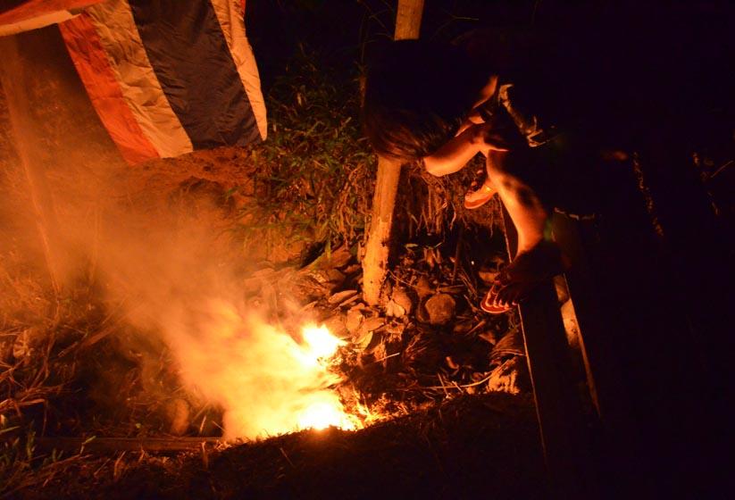 fire for mosquitos