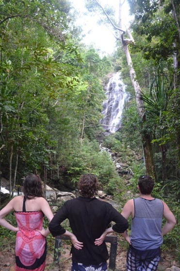 Koh Phangan Waterfall