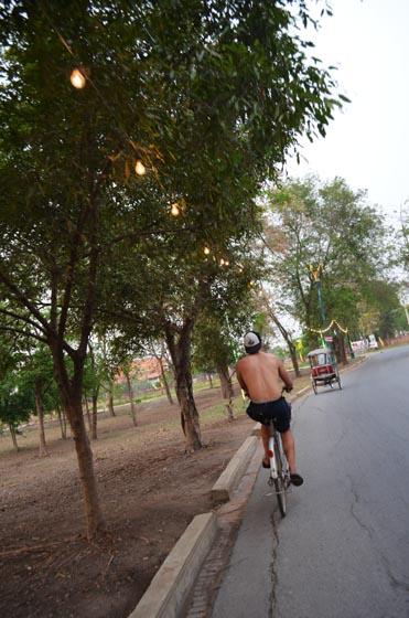 Biking in Ayutthaya