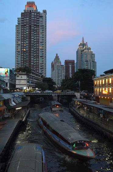 Khlong Saen Seap Channel Boat