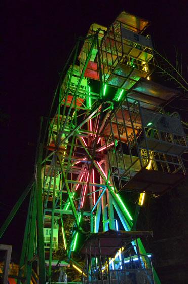 ferris wheel in thailand