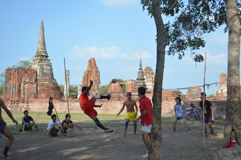 takraw in ruins