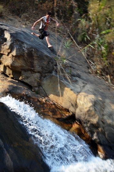 pai waterfall jump