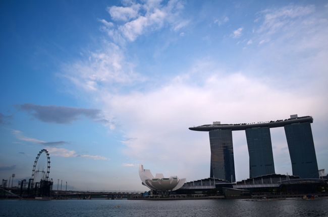 Marina Bay Sands Skyline